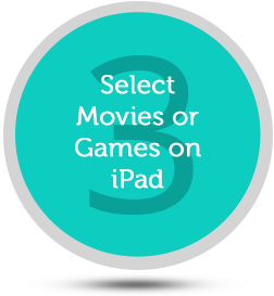 Select games on iPad