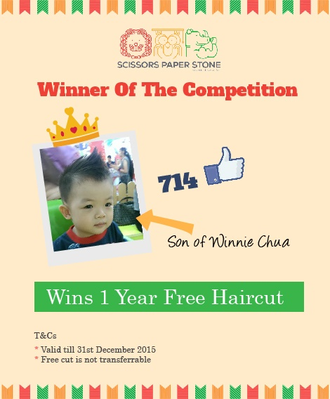 1 Year Free Haircut Contest